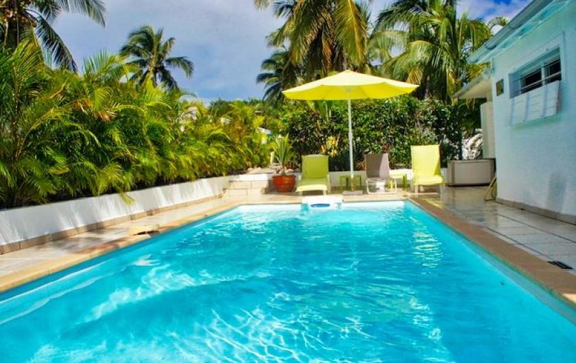 Location de vacances - Villa à Saint-François - Piscine privative