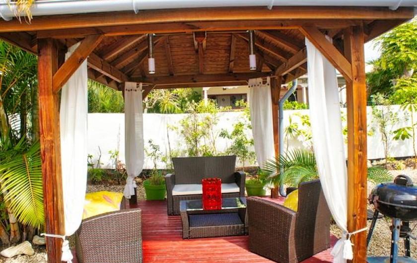 Location de vacances - Villa à Saint-François - Carbet avec salon