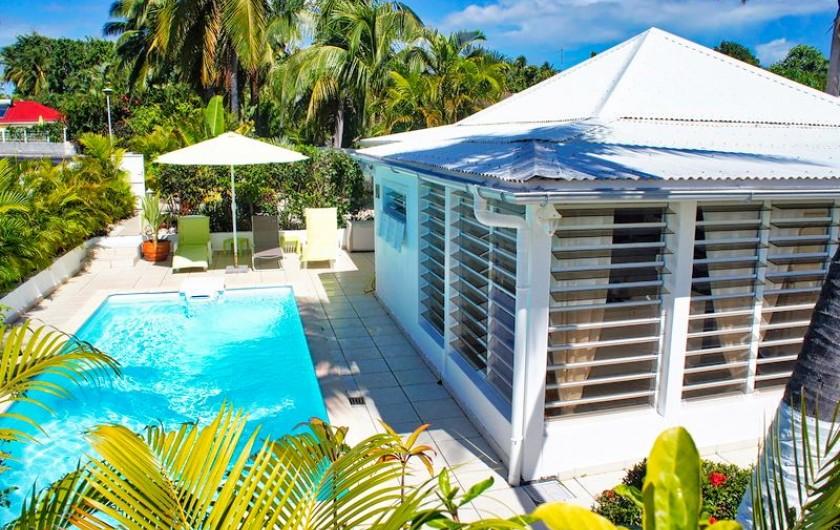 Location de vacances - Villa à Saint-François - Villa SOSSO pour 4 personnes avec piscine privative