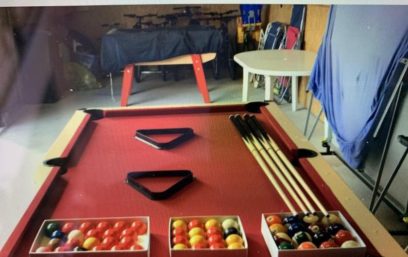 Location de vacances - Gîte à Omiécourt - Salle de jeux privée