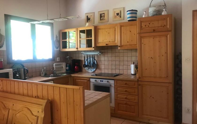Location de vacances - Villa à Biscarrosse Plage - Cuisine américaine