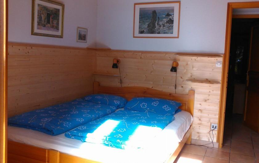 Location de vacances - Villa à Biscarrosse Plage - Chambre 2 avec Grand lit