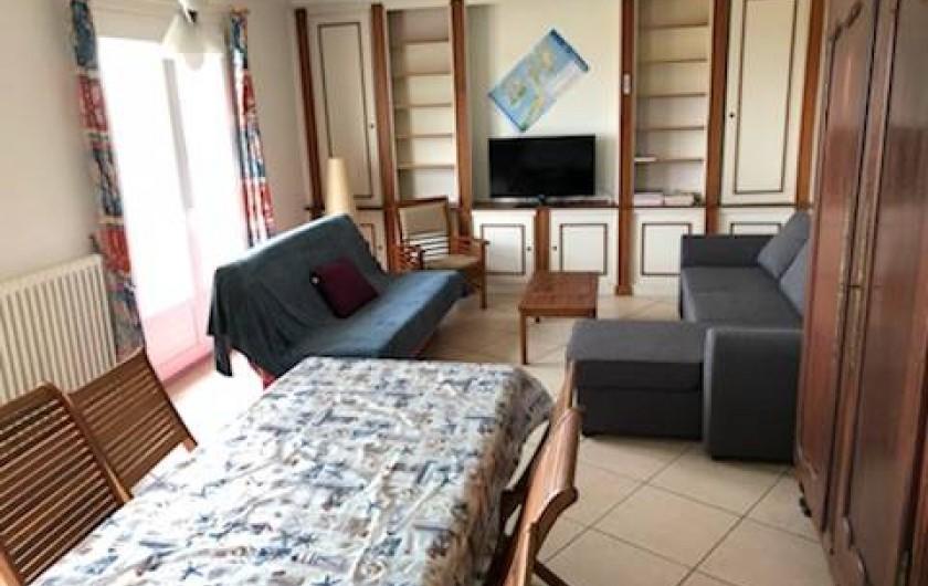 Location de vacances - Appartement à Barbâtre - Salon séjour