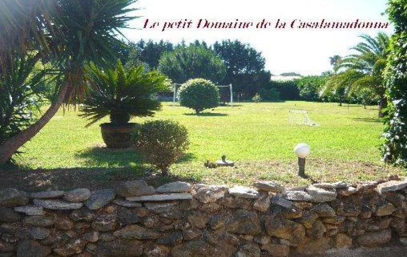 Location de vacances - Villa à Moriani-Plage - Belle propriété arborée de 5000 m2 à 700 mètres de la plage