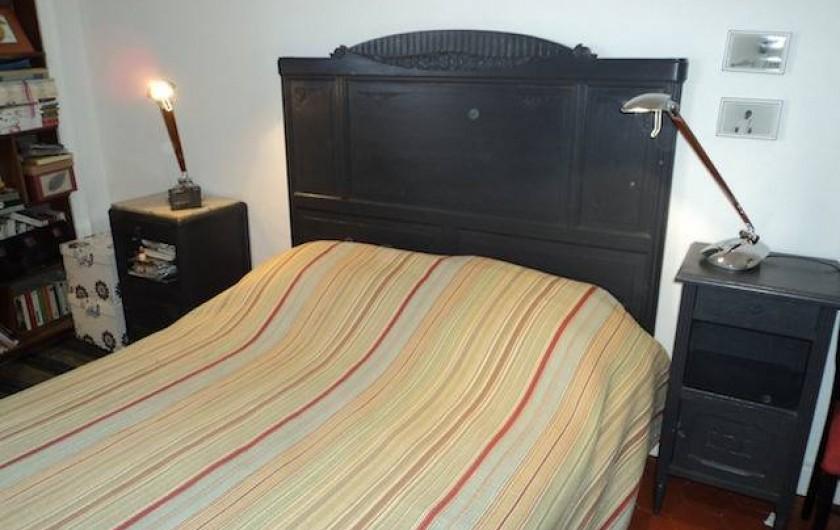Location de vacances - Maison - Villa à Saint-Laurent-de-la-Salanque - Chambre: 1 lit en 140cm