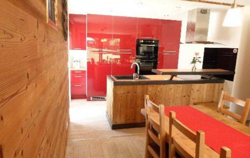 Location de vacances - Appartement à Valloire - Cuisine contemporaine