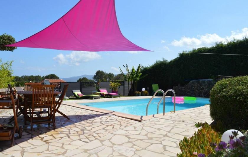 Location de vacances - Appartement à Roquebrune-sur-Argens - ESPACE PISCINE