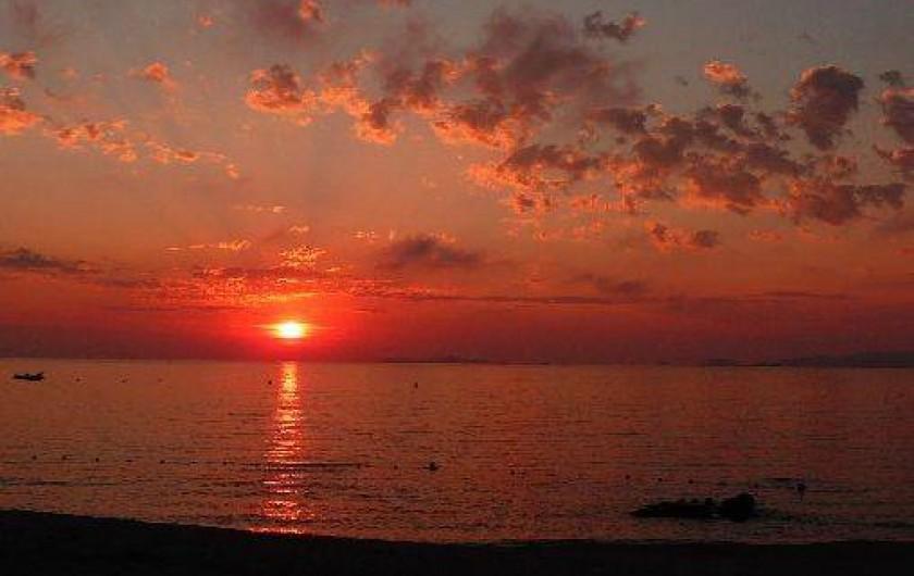 Location de vacances - Maison - Villa à Coti-Chiavari - coucher de soleil à Portigiolo