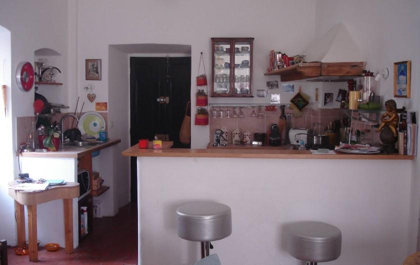 Location de vacances - Appartement à L'Île-Rousse - COIN CUISINE