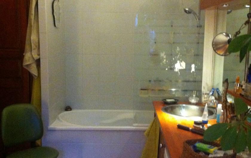 Location de vacances - Appartement à L'Île-Rousse - SALLE DE BAINS (toilettes séparés)