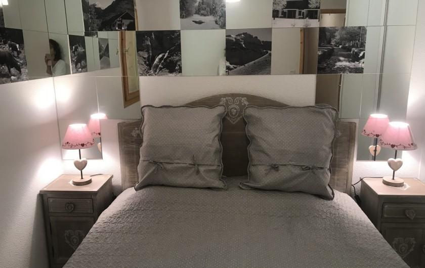 Location de vacances - Appartement à Samoëns - Chambre lit king size