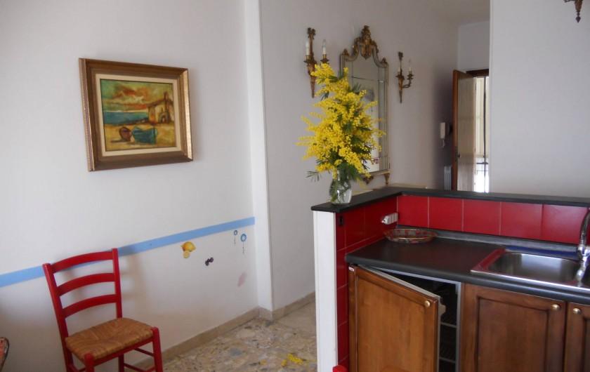Location de vacances - Appartement à Ospedaletti - salon autre coin