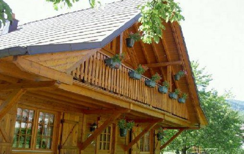 Location de vacances - Chalet à Lalaye