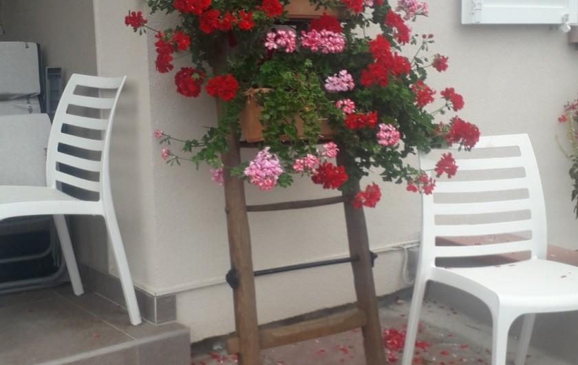 Location de vacances - Chambre d'hôtes à Eguisheim - GITE  de  TANTE  LINE au  N°  4  Rue Porte  Haute EGUISHEIM  2  à  7 personnes