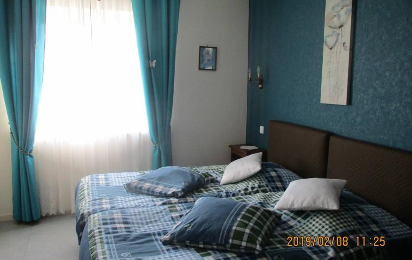 Location de vacances - Chambre d'hôtes à Eguisheim - Chambre   BLEUE
