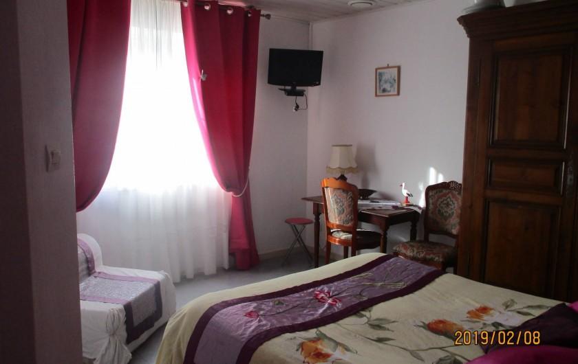Location de vacances - Chambre d'hôtes à Eguisheim - Chambre  ROSE