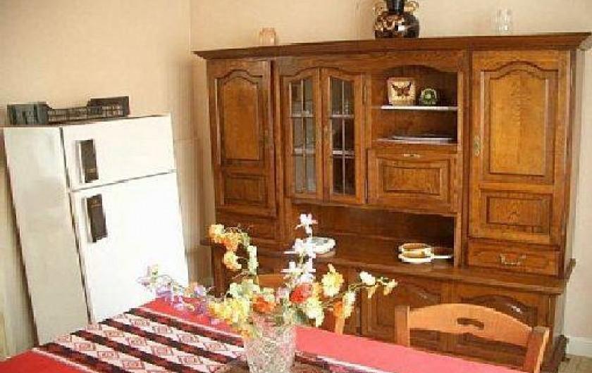 Location de vacances - Gîte à Pontlevoy - salle à manger des Jonqulles