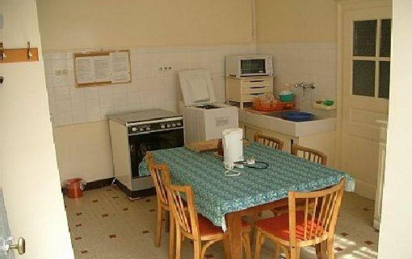 Location de vacances - Gîte à Pontlevoy - cuisine rurale des Jonquilles