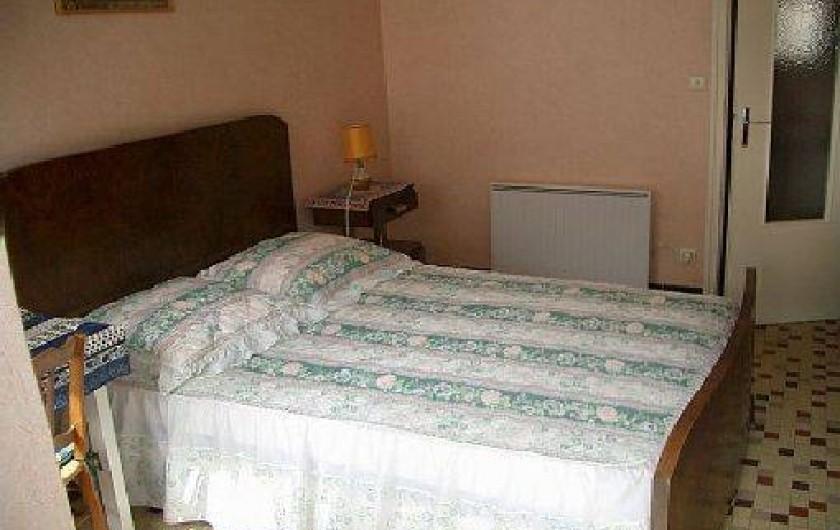 Location de vacances - Gîte à Pontlevoy - 1 chambre à un grand lit  style Rococo
