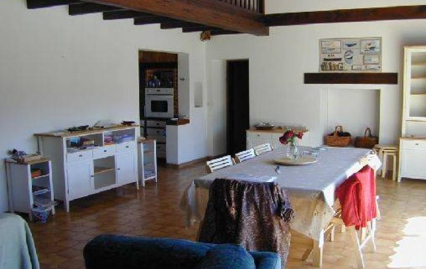 Location de vacances - Maison - Villa à Ars-en-Ré - salle à manger