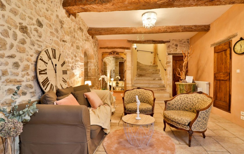 Location de vacances - Chambre d'hôtes à Pernes-les-Fontaines - Bienvenue au Temps Suspendu Provence
