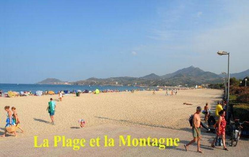 Location de vacances - Appartement à Argelès-sur-Mer - La plage