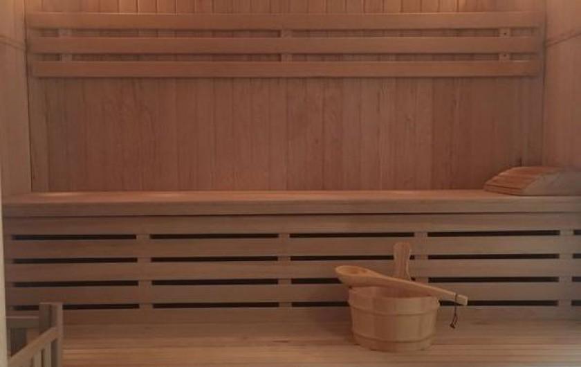 Location de vacances - Chalet à Bolquère - Le sauna traditionnel
