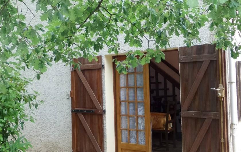 Location de vacances - Villa à Draguignan - l'entrée principale de notre villa