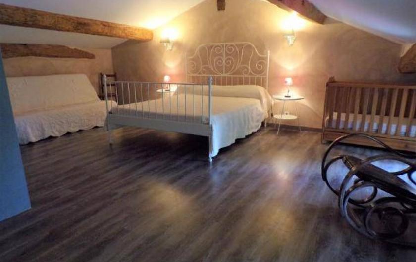 Location de vacances - Gîte à Vignonet - Chambre étage