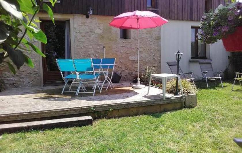 Location de vacances - Gîte à Vignonet - jardin