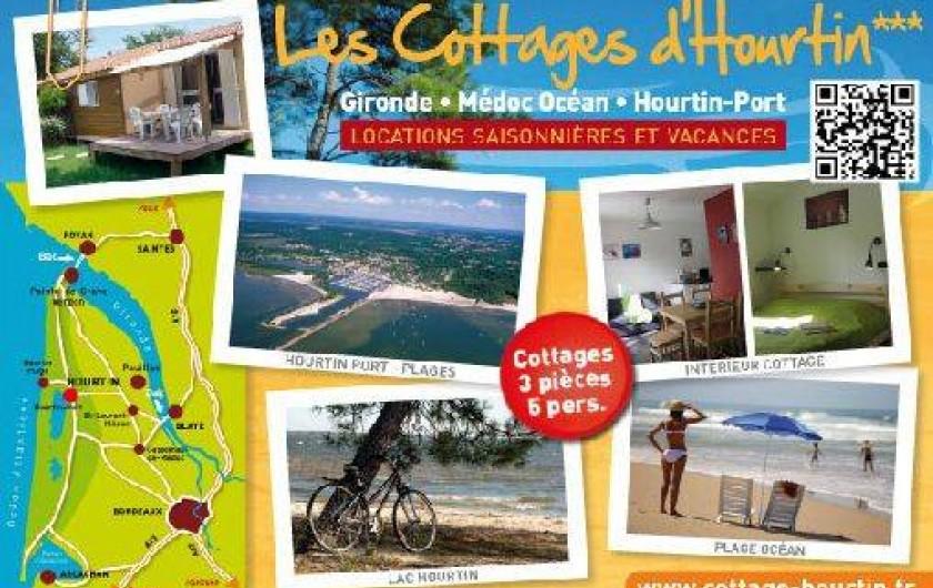 Location de vacances - Maison - Villa à Hourtin - Les cottages d'hourtin*** Médoc Océan - (33) Gironde