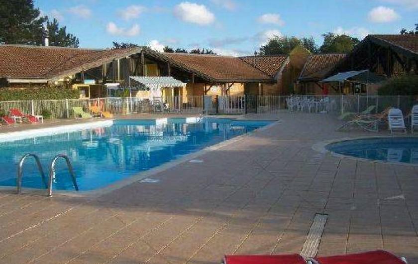 Location de vacances - Maison - Villa à Hourtin - Cottages Hourtin*** piscine