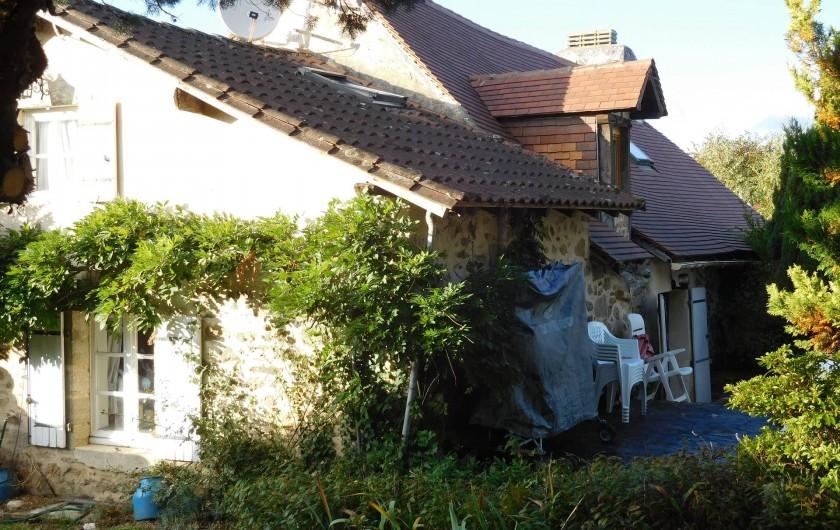 Location de vacances - Gîte à Puydoyeux - Maison et Patio