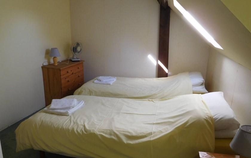 Location de vacances - Gîte à Puydoyeux - Chambre jumelle