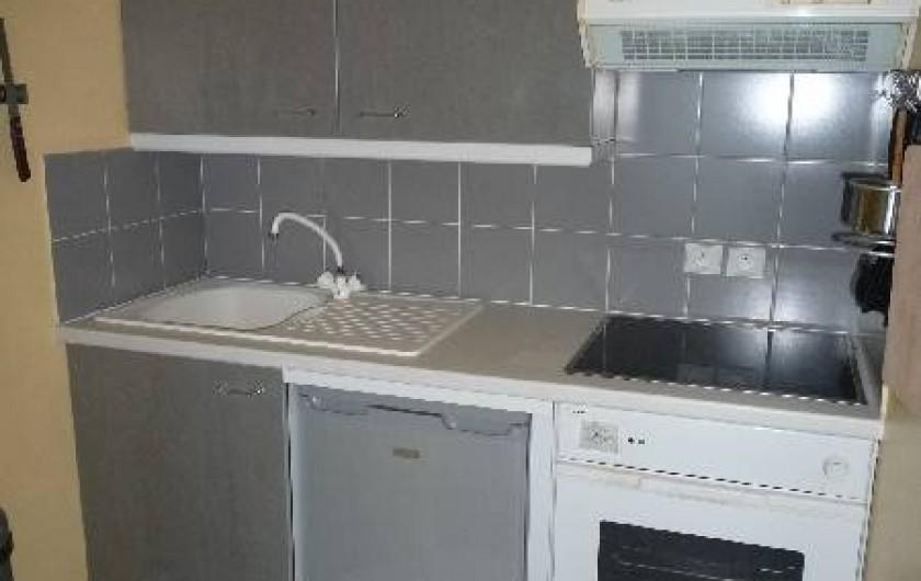 Location de vacances - Appartement à Wimereux - cuisine
