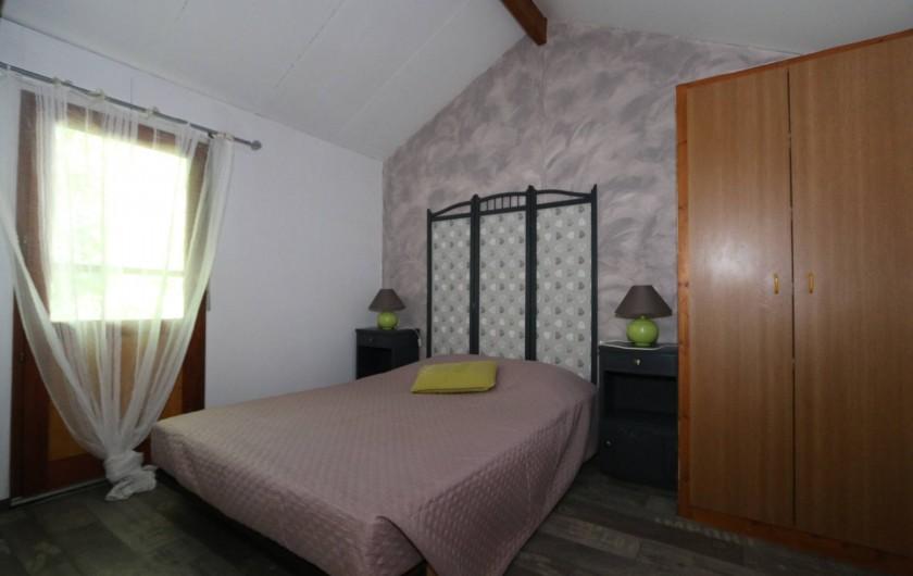 Location de vacances - Gîte à Grospierres - Chambre parentale gîte 2