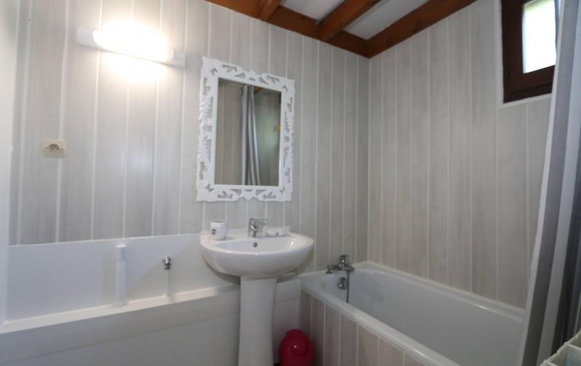 Location de vacances - Gîte à Grospierres - La salle de bain