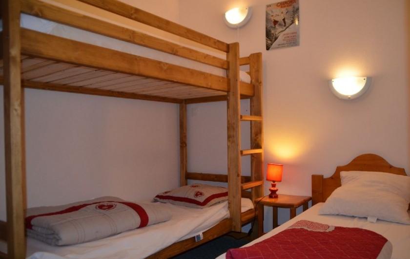 Location de vacances - Appartement à Les Menuires - Chambre 2