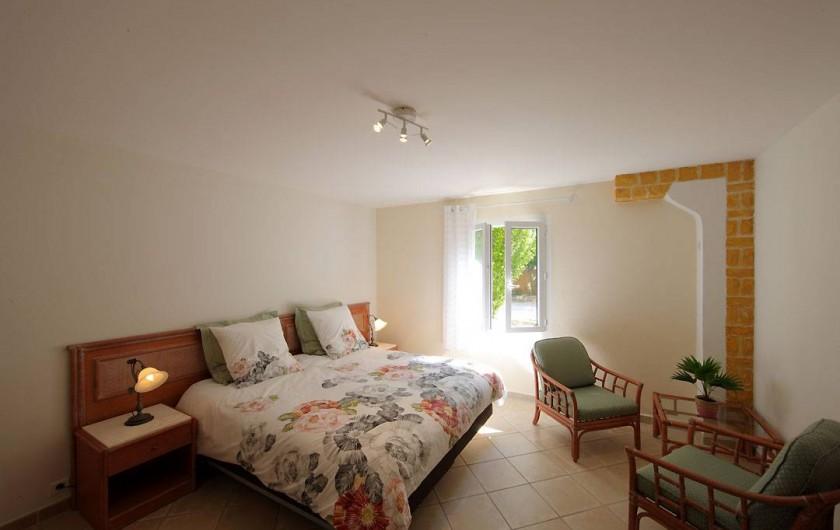 Location de vacances - Villa à Avignon - Chambre 5 lit 180 ou 2 lits 90