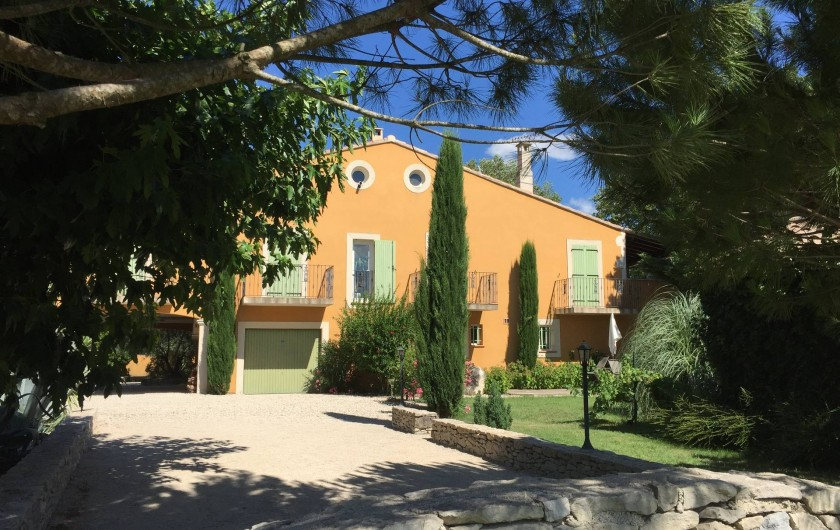 Location de vacances - Villa à Avignon - Terrain de pétanque