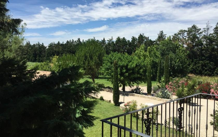 Location de vacances - Villa à Avignon - vue des balcons