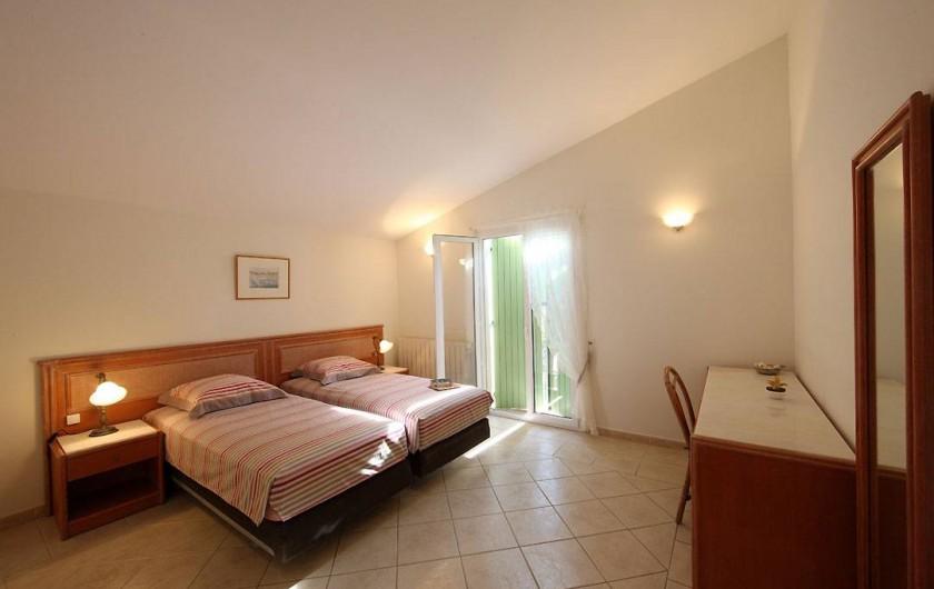 Location de vacances - Villa à Avignon - Chambre 2 lit 180 ou 2 lits 90
