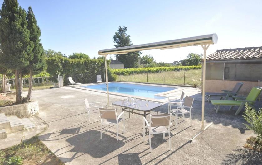 Location de vacances - Villa à Caromb