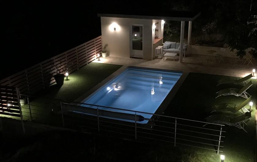 Location de vacances - Villa à Barjac