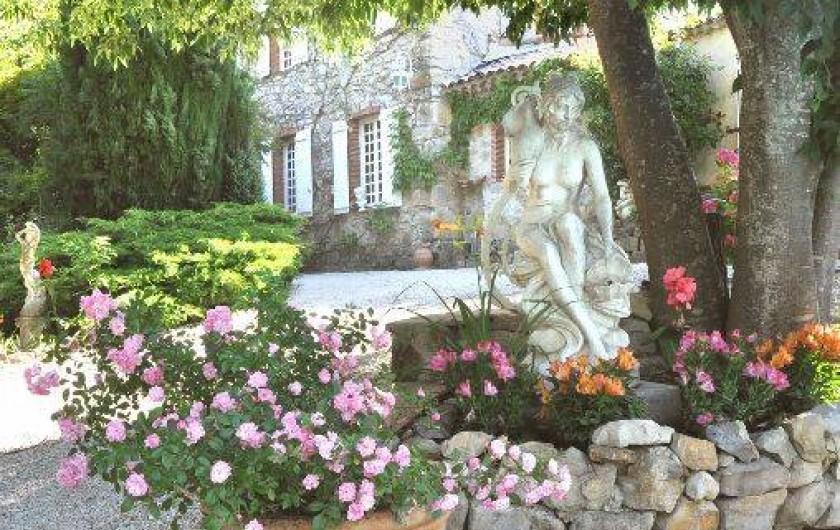 Location de vacances - Chambre d'hôtes à Cuers - entrée principale