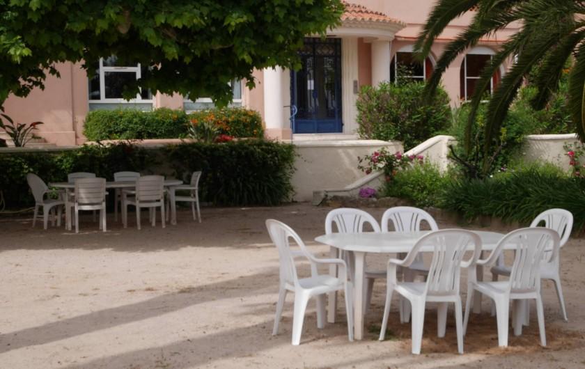 Location de vacances - Studio à Bandol - Le Parc
