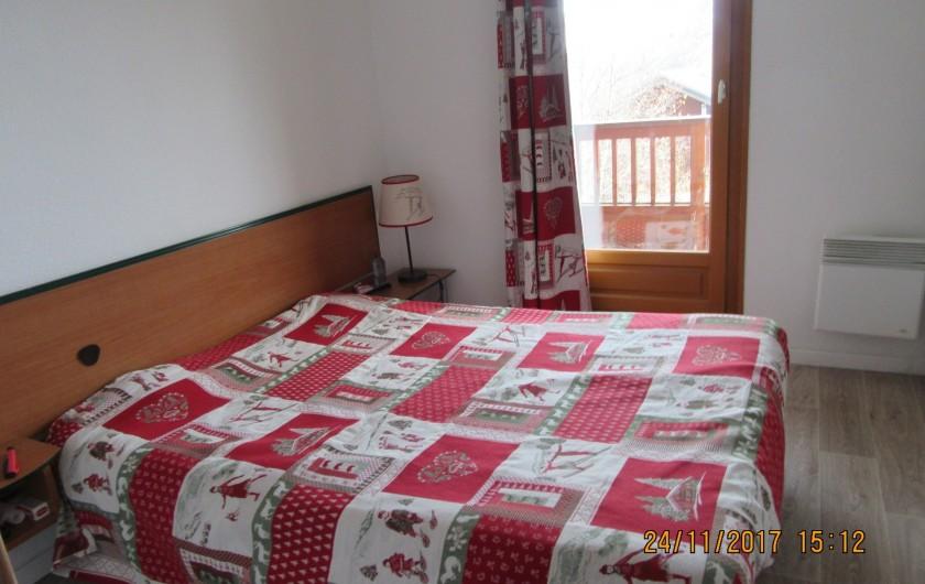 Location de vacances - Appartement à Saint-Sorlin-d'Arves - chambre 1