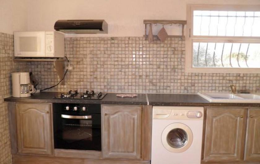 Location de vacances - Appartement à Pianottoli-Caldarello - cuisine