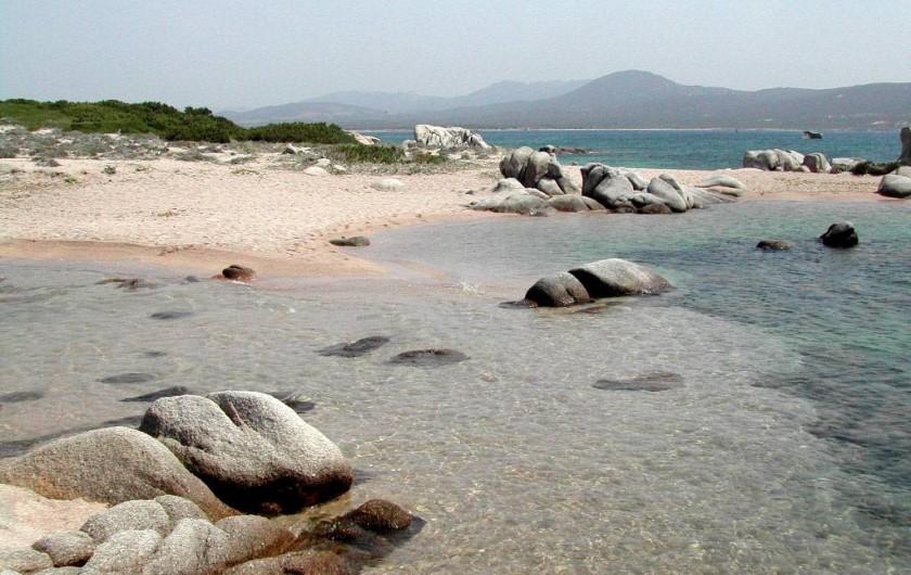 Location de vacances - Appartement à Pianottoli-Caldarello - plage de pianottoli