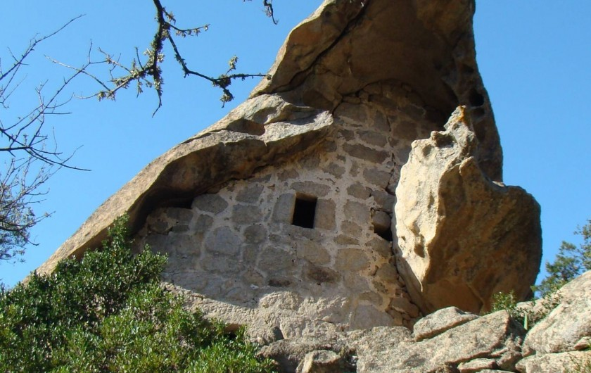 Location de vacances - Appartement à Pianottoli-Caldarello - oriu (maison troglodyte) à sotta